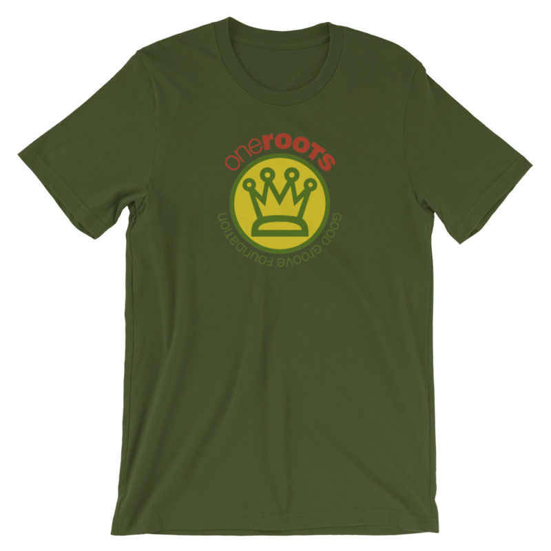 oneROOTS™ - King's Crown - T-Shirt - Olive