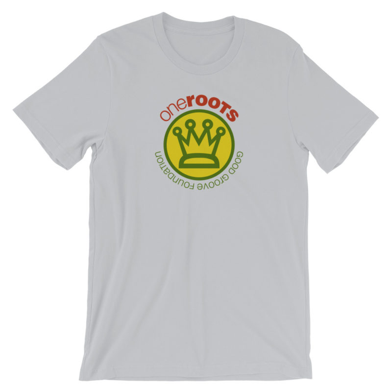 oneROOTS™ - King's Crown - T-Shirt - Silver