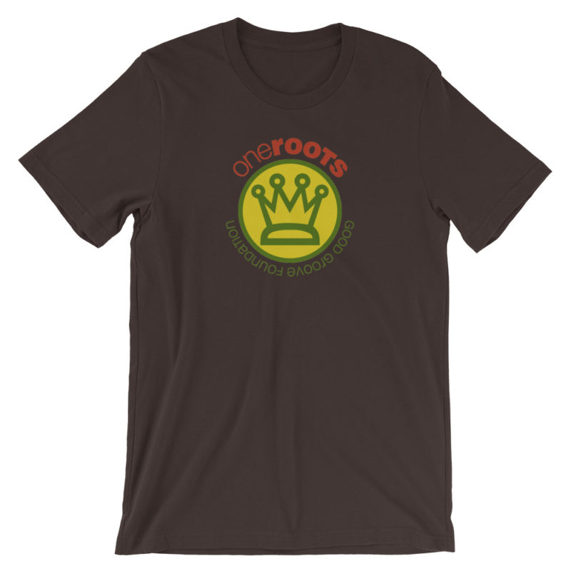 oneROOTS™ - King's Crown - T-Shirt - Brown