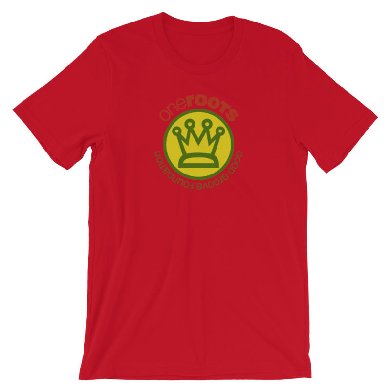 oneROOTS™ - King's Crown - T-Shirt - Red